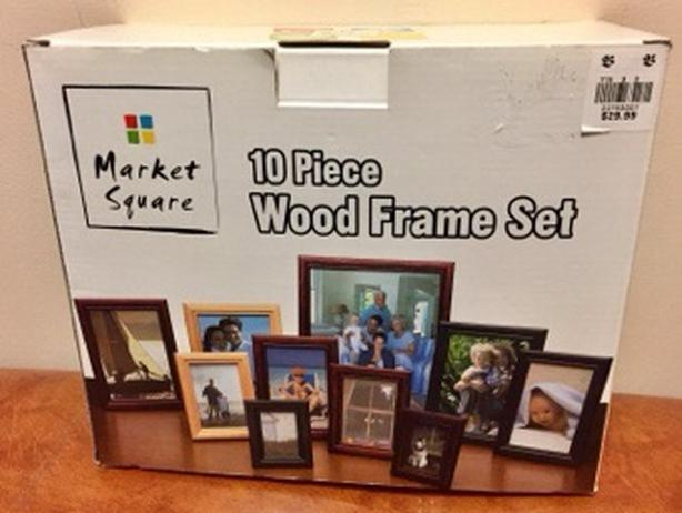 Market Square 10 Piece Wood Frame Set New Downtown Winnipeg