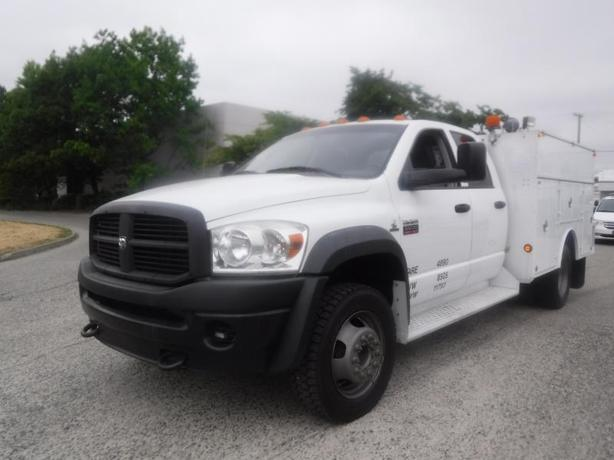 2009 Dodge Ram 5500 Quad Cab 4WD Diesel Service Truck