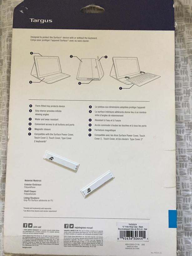Surface Pro 3 Folio Case