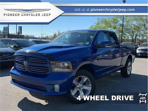 2014 Ram 1500 SPORT  -Leather -Sunroof -Nav