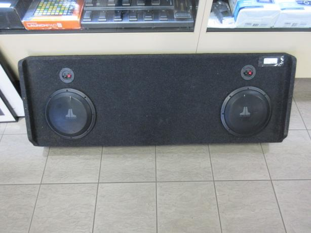 "JL Audio - 2x10"" subs  07-13 Chevy Sierra Crew Cab **MoneyMaxx**"