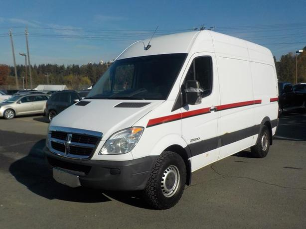  Log In needed $14,830 · 2007 Dodge Sprinter 2500 144-in  WB Cargo Van  Diesel with Air Compressor and Rea