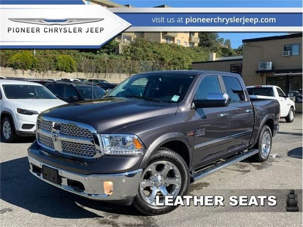 2017 Ram 1500 Laramie  -Nav -Leather -Heat Vent Seats