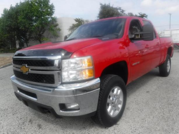 2013 Chevrolet Silverado 2500HD LTZ Crew Cab Regular Box 4WD Diesel