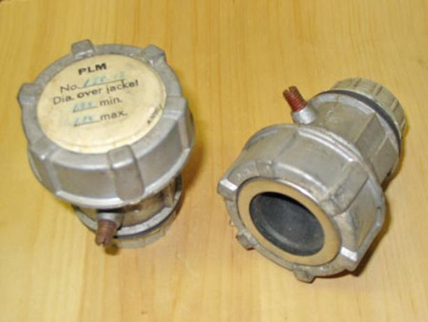 "ADALET PLM JAG 138-12 Teck MC Cable 1-1/4"" Couplers (1.28"" - 1.38"") ~ Rare!"