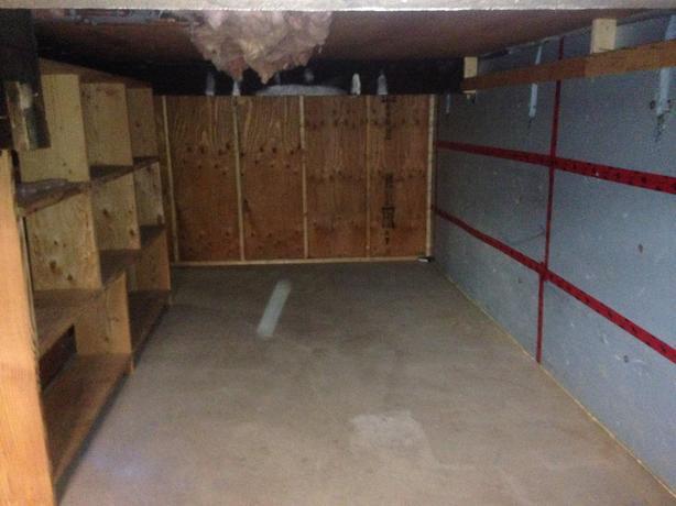 Basement storage  (Victoria)
