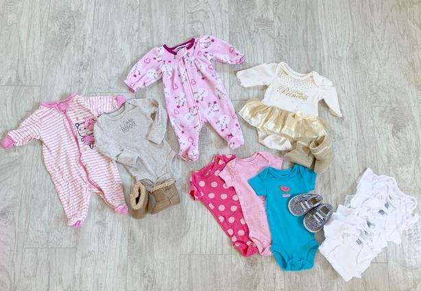 27285f906896 Beautiful Baby Girl Lot Newborn - 3 Months Saanich