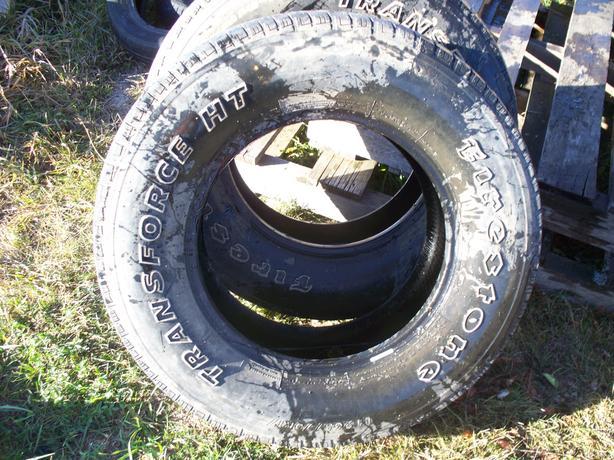 17 inch Firestone Transforce HT M+S Tires