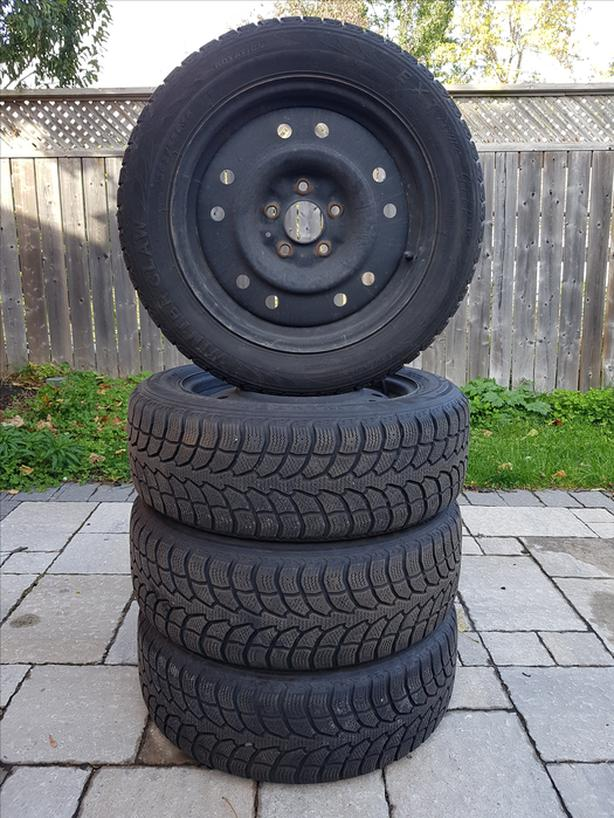 Winter tire and rim package 205/55R16 91T - 5x114.3