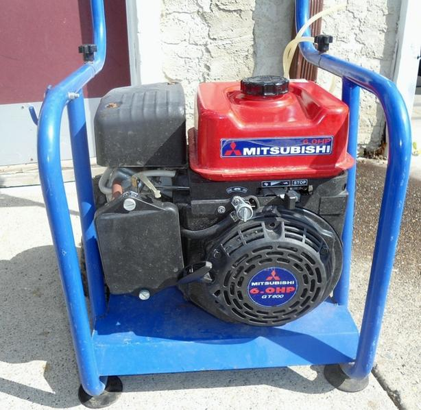 MITSUBISHI 6 HP GAS PRESSURE WASHER MOTOR