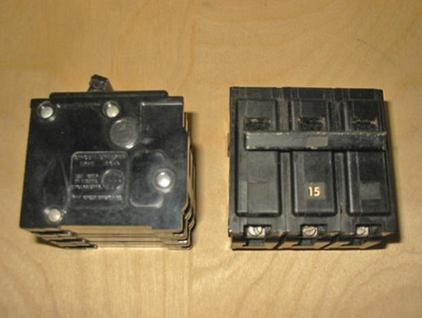 ITE 'Type EQ-P' 15 Amp, 3 Pole, 240 Volt Circuit Breaker (Q315) ~ Rare!