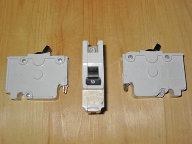 FPE 'Type NA' 50 Amp, 1 Pole, 120 Vac Circuit Breaker (FPE NA150) ~ Rare!