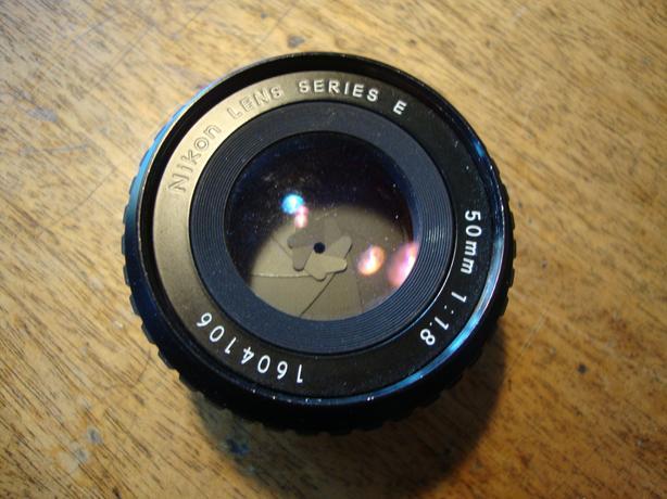 Nikon Series E 50MM 1:1.8 Lens