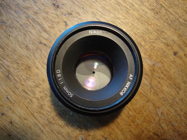 Nikon AF Nikor 50MM 1:1.8D Lens