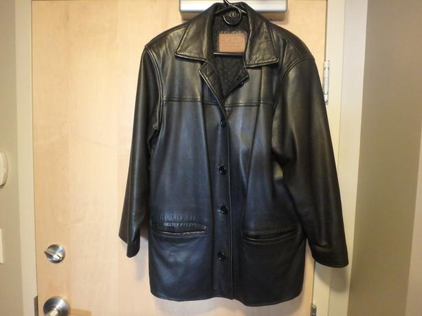 Women's Soft Supple Leather Coat