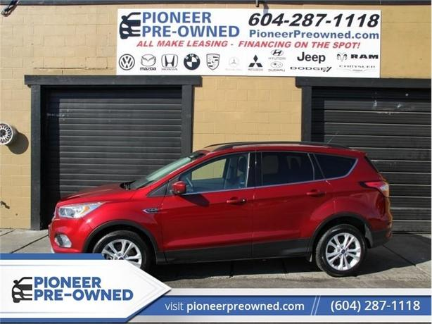 2017 Ford Escape SE  - 4X4 - Nav - Bluetooth - Heated Seats