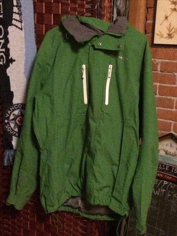 b55b2312f7 Helly Hansen XL Waterproof Rain Jacket Victoria City