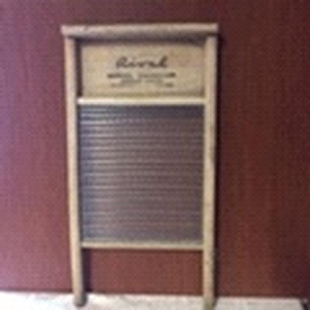 Antique Vintage Rival Washboard
