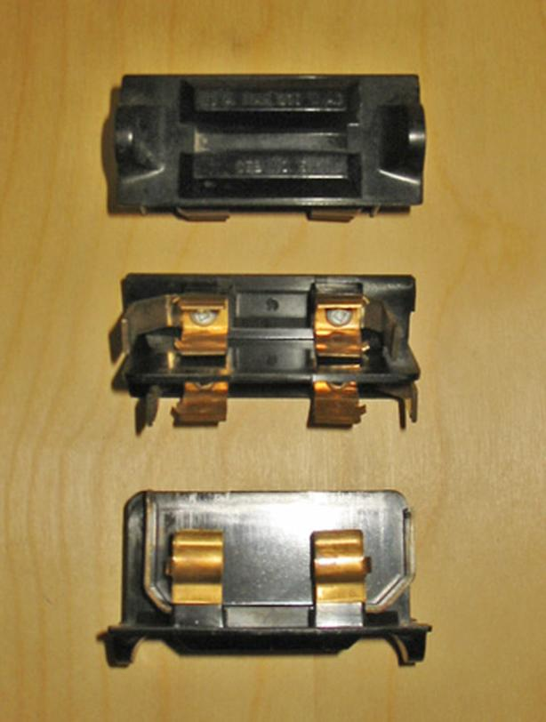 "CEB 30 Amp, 230 Vac ""OFFSET"" Fuse Cartridge Holder (Cat No: 5) ~ Very Rare!"