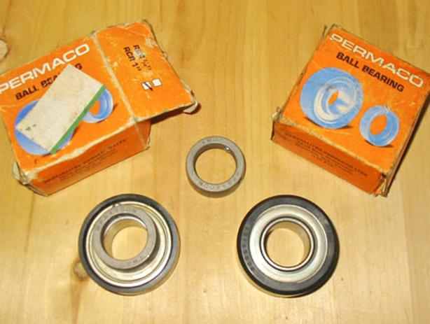 "PERMACO 1"" Inch RCR Ball Bearings ~ Quantity 3 (Part No.: RA100NPR) ~ New!"