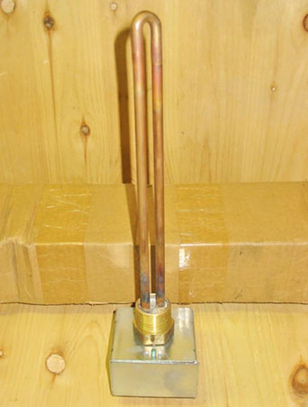 CHROMALOX 1500 Watt, 240 Volt Screw Plug Immersion Heater w/Terminal Box ~ New!