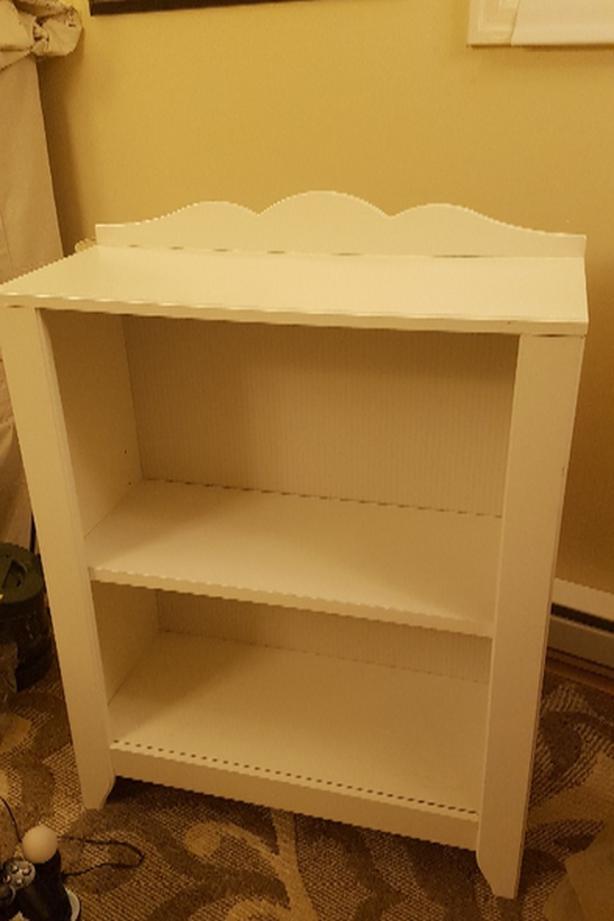 Simple Ikea Bookcase In White Saanich Victoria