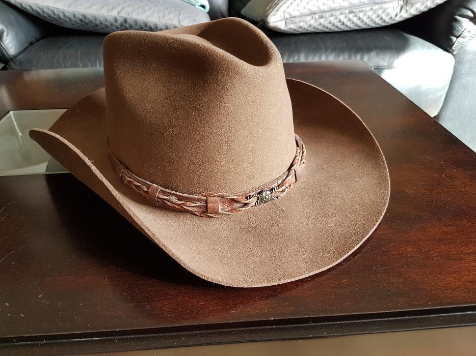 f369c710adde4 Never used Stetson (Renegade) cowboy hat Central Saanich