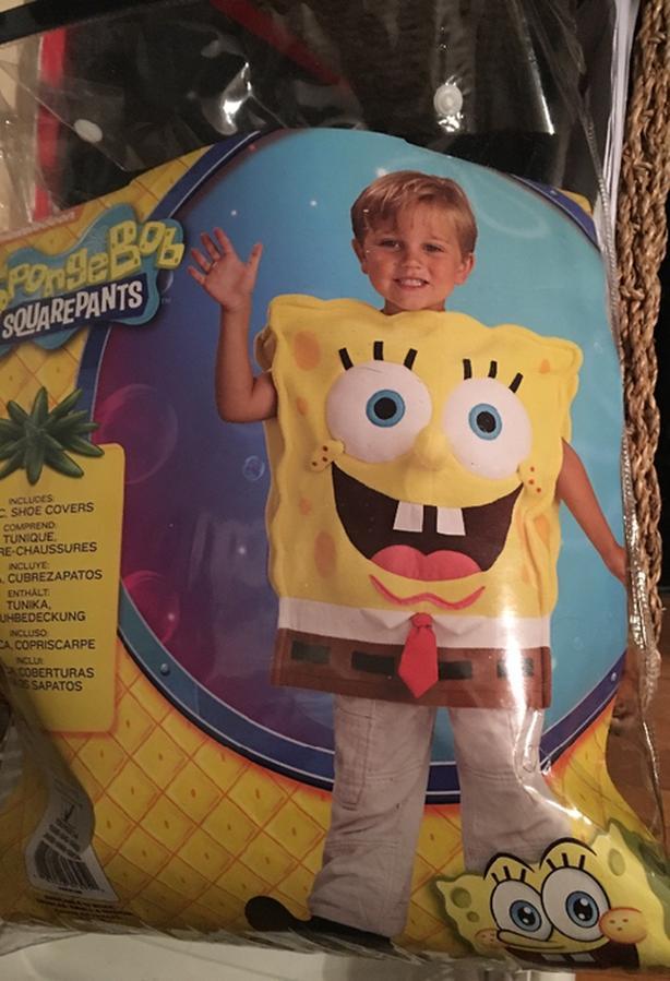 Spongebob Toddler Sz SM