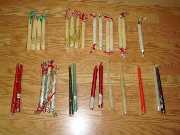 Brand New Candle Sticks - 10 candles for $2
