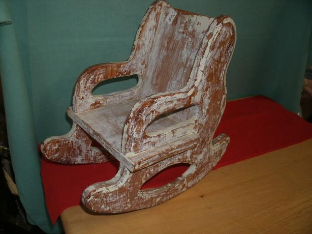 Antique Dolls Rocking Chair