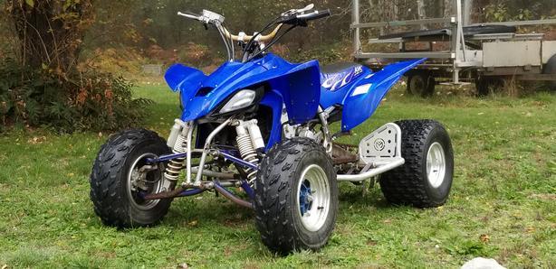 $3,200 · 2007 Yamaha YFZ 450 Raptor quad super fast !