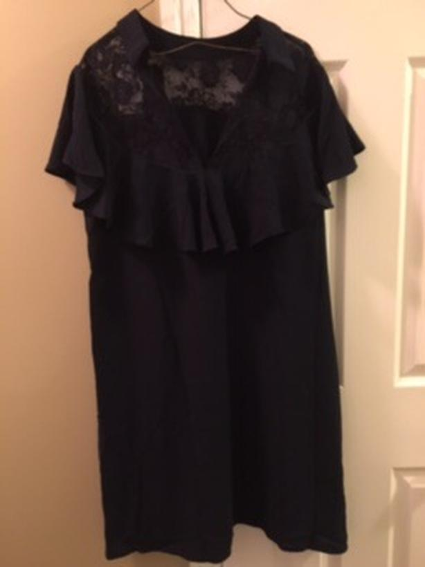 Suzanne Betro Black Dress For Sale - Brand New!