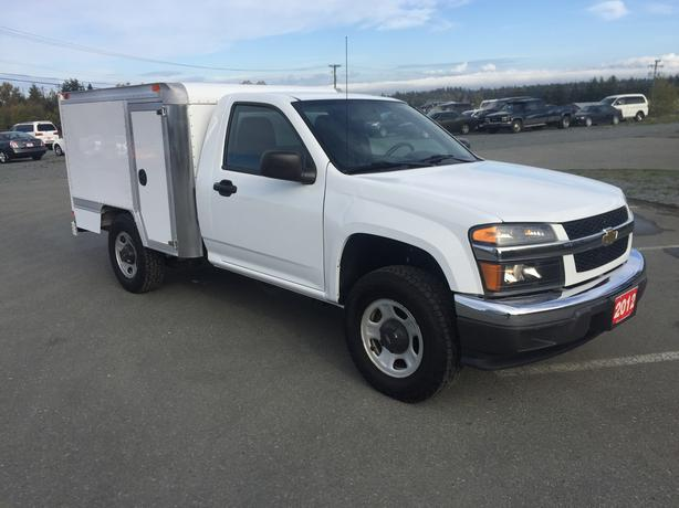 2012 CHEVROLET COLORADO LT HEATED CUBE/WORK/TOOL TRUCK