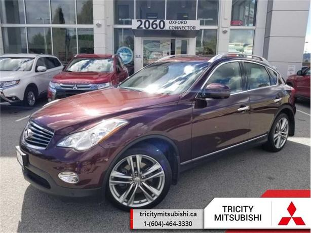 2012 Infiniti EX35 BASE  - Leather Seats -  Heated Seats