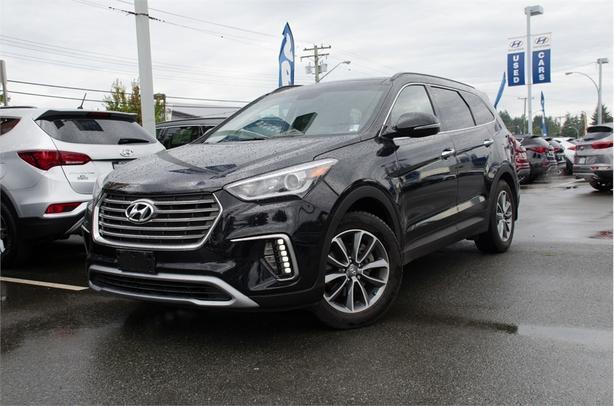 2017 Hyundai Santa Fe Xl Limited Navigation Leather Heatd Seats Sunroof Outside Metro Vancouver Maple Ridge