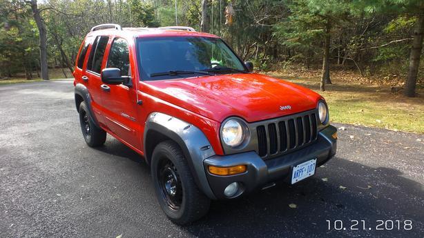 4 x 4 - 2003 - Jeep Liberty, Rocky Mountain Edition