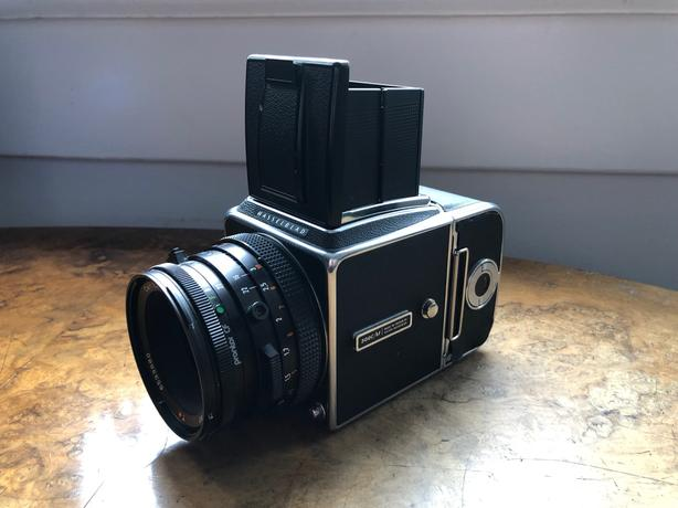  Log In needed $1,200 · Hasselblad 500CM with prism finder, case, meter +  more