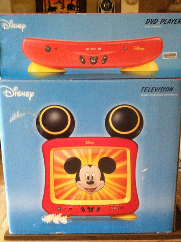 Disney T.V. And DVD Player