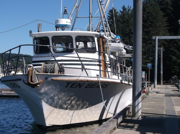 Commercial Salmon, Crab Charter Vessel For Sale - Ten Bears