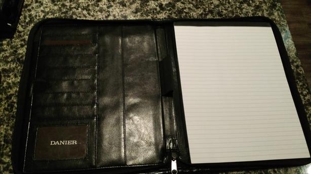 Danier Black Leather Binder