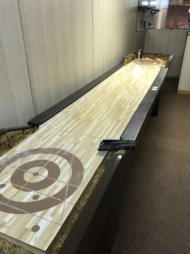 table shuffle board