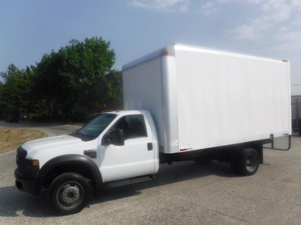 2010 Ford F-450 SD Dually 16 Foot Cube Van Diesel 2WD