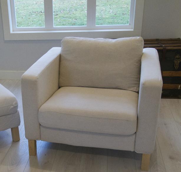 Reduced Price Off White Ikea Armchair Saanich Victoria