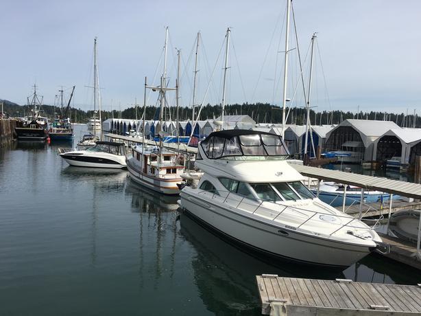West coast marina complex for sale
