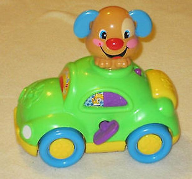 fisher price puppy learning car laugh learn toy