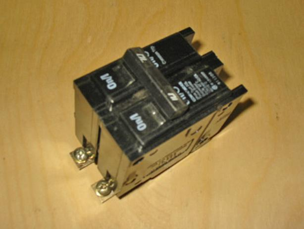 COMMANDER BQL 70 Amp, 2 Pole, 240 Volt Circuit Breaker ~ Rare/Mint!