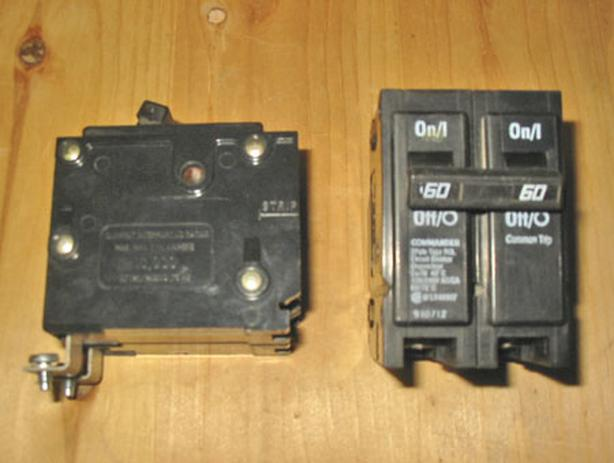 COMMANDER BQL 60 Amp, 2 Pole, 240 Volt Circuit Breaker ~ Rare/Mint!