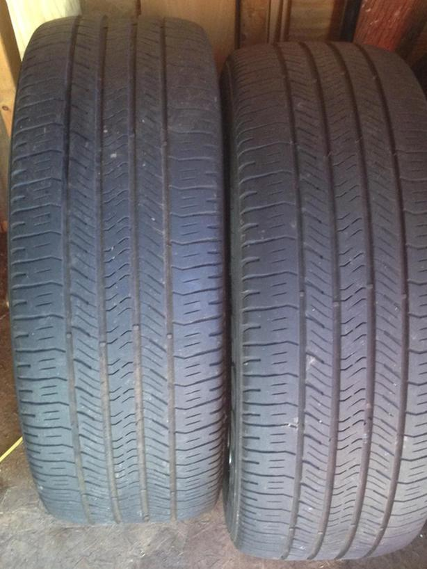 tires...4... Goodyear eagle  225 50 18 used