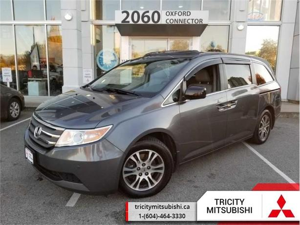 2013 Honda Odyssey EX-L   LEATHER-SUNROOF-BACK UP CAMERA