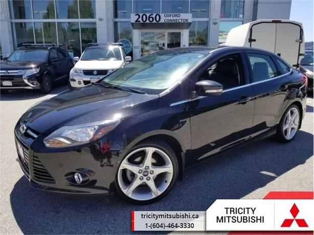2014 Ford Focus TITANIUM  LEATHER-SUNROOF-HEATED SEATS